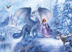 Ice Dragon Snow Family Pieces