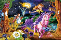 Mystical World Unicorns Children's Puzzles