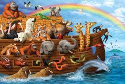 Noah's Ark Rainbow Religious Children's Puzzles