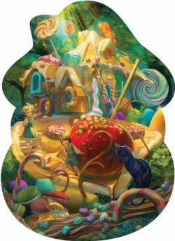 Hansel and Gretel Americana & Folk Art Jigsaw Puzzle
