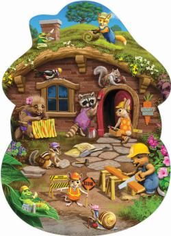 Rabbit's House Wildlife Children's Puzzles