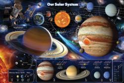 Our Solar System Space Floor Puzzle
