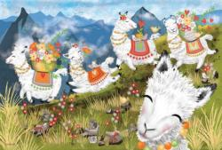 Leaping Llamas Animals Children's Puzzles