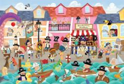 Pirates on Vacation Pirates Tray Puzzle