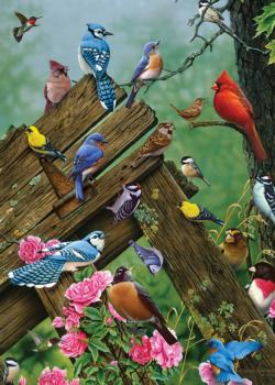 Wildbird Gathering Wildlife Children's Puzzles