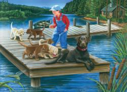 Go Fetch Lakes / Rivers / Streams Jigsaw Puzzle