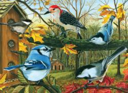 Backyard Feeder Garden Jigsaw Puzzle