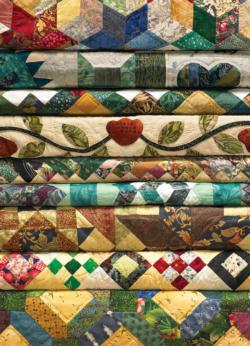 Grandma's Quilts Quilting & Crafts Jigsaw Puzzle