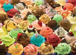 Ice Cream Pattern / Assortment Jigsaw Puzzle