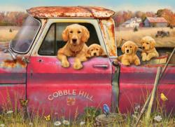Cobble Hill Farm Dogs Jigsaw Puzzle