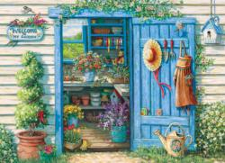 Welcome to My Garden Everyday Objects Jigsaw Puzzle