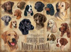 Sporting Dogs Dogs Jigsaw Puzzle