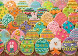 Easter Eggs Sweets Jigsaw Puzzle