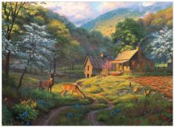 Country Blessings Cottage / Cabin Jigsaw Puzzle