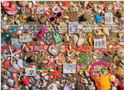 Beach Scene Collage Jigsaw Puzzle
