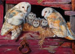 Barn Owls Owl Jigsaw Puzzle