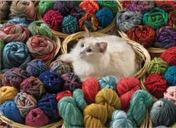 Fur Ball Everyday Objects Jigsaw Puzzle