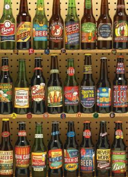 Beer Collection Adult Beverages Jigsaw Puzzle