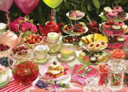 Garden Party Sweets Jigsaw Puzzle