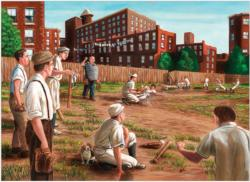 Old Time Baseball Baseball Jigsaw Puzzle