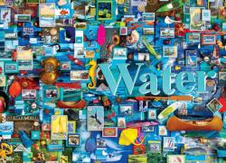 Water Collage Jigsaw Puzzle
