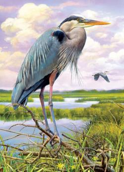 Heron Birds Jigsaw Puzzle