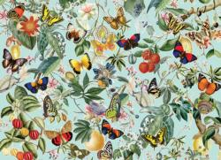 Fruit and Flutterbies Collage Jigsaw Puzzle