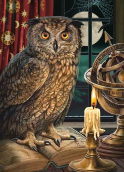 The Astrologer Owl Jigsaw Puzzle