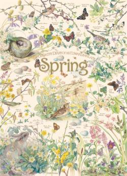 Country Diary: Spring Nature Jigsaw Puzzle