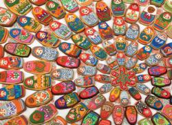Matryoshka Cookies Photography Jigsaw Puzzle