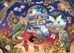 Owl Magic Owl Jigsaw Puzzle