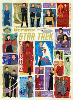The Women of Star Trek Movies / Books / TV Jigsaw Puzzle