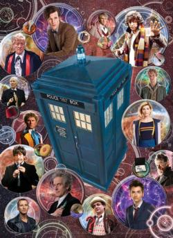Doctor Who: The Doctors Sci-fi Jigsaw Puzzle