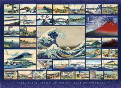 Hokusai Cultural Art Jigsaw Puzzle