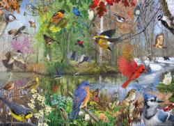 Birds of the Season Summer Jigsaw Puzzle