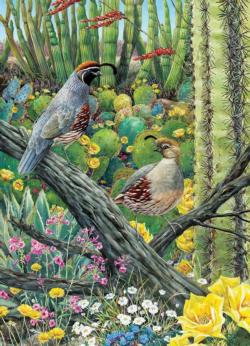 Courtship Flowers Jigsaw Puzzle