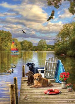 Dog Day Afternoon Lakes / Rivers / Streams Jigsaw Puzzle