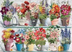 Beaucoup Bouquet Flowers Jigsaw Puzzle