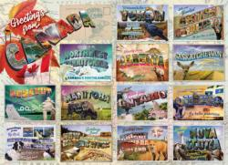 Greetings from Canada Canada Jigsaw Puzzle