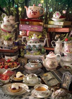 We're All Mad Here Food and Drink Jigsaw Puzzle