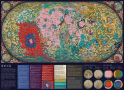 The Moon Maps / Geography Jigsaw Puzzle