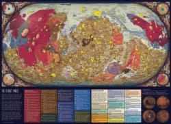 The Planet Mars Maps / Geography Jigsaw Puzzle