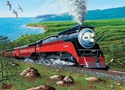 Southern Pacific Landscape Jigsaw Puzzle