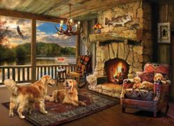 Lakeside Cabin Cottage / Cabin Jigsaw Puzzle