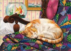 Sweet Dreams Cats Jigsaw Puzzle