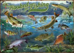 Hooked on Fishing Lakes / Rivers / Streams Jigsaw Puzzle