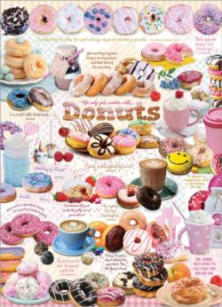 Donut Time Sweets Jigsaw Puzzle