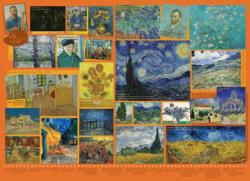 Van Gogh Collage Jigsaw Puzzle
