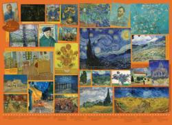 Van Gogh Collage Jigsaw Puzzle