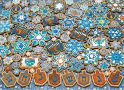 Hanukkah Cookies Sweets Jigsaw Puzzle